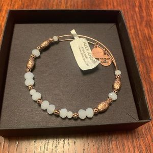 Alex and Ani Copper and Stone Bangle Bracelet NWT